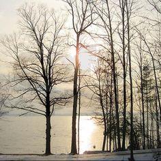 Adirondack Winter Sunrise Shower Curtain on CafePress.com Ordered 08-03-13