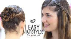 Kısa Saçlar İçin Kolay Saç Stilleri Nasıl Yapılır - Düğün, mezuniyet balosu, kutlama vb özel anlarınızda pratik şekilde uygulayabileceğiniz yeni trend saç modelleri, saç örgü modelleri, saç toplama teknikleri, en güncel kısa ve uzun saç modellerini sizler için biraraya getirdik. Güzel görünmek ve mükemmel saçlar için videomuzdan ilham alarak bir kaç deneme ile istediğiniz sonuca ulaşabilirsiniz.