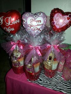 mens valentines day baskets