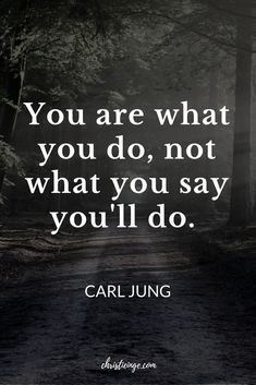 Carl Jung Quote about intentional living and ing your dreams. Positive Quotes, Motivational Quotes, Inspirational Quotes, Unique Quotes, Dream Quotes, Quotes To Live By, Wisdom Quotes, Life Quotes, Career Quotes