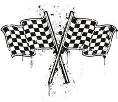 stencils checer flag - Google Search