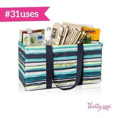 Go green! Store your recyclables in our LUT until you're ready to take them to the drop off.  #gogreenwith31 #31sale www.SoManyCuteBags.com