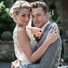 Georgia Wedding Hair Vine By Rosie Willett Designs As Worn Horsley For Her To Danny Jones From Mcbusted