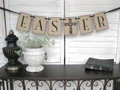 Easter Decoration rustic elegance Easter decor by AlisaMayde