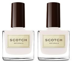 New Natural Nail Polish from Scotch Naturals. #Pretty