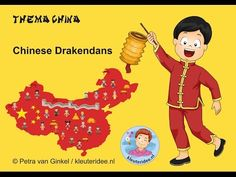 Thema China voor kleuters Chinese Drakendans, kleuteridee nl - YouTube