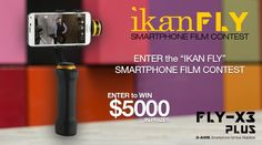 Be sure to sign up for our short film contest and have a chance to win up to $5000 in gear. Registration ends April 30th, sign up now before it is too late!  Follow the link to sign up: http://ikancorp.com/ikanfly/index.html