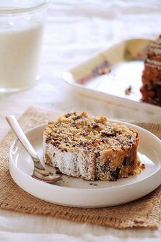 Κέικ / scones - The one with all the tastes Greek Sweets, Greek Desserts, Sweets Recipes, Cake Recipes, Snack Recipes, Cake Cookies, Cupcake Cakes, Chocolate Chip Cake, Brownie Cake
