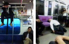 Nap Time Train rides get sleepy