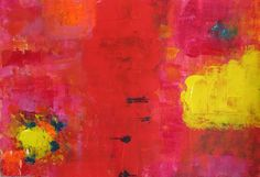 """""""Drei Farben: Rot"""" by AbstrART painting, acryl, abstract"""