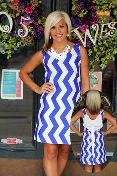 Ella Dress in blue $39.99 | 105 West Boutique (Abbeville, SC)