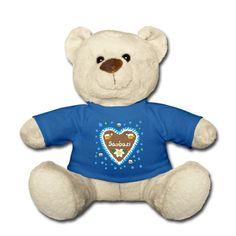 Was für ein süßer Teddy! #lebkuchenherz #saubazi #wiesn #oktoberfest #bayern #bavaria #teddy #munich #münchen #toocute #german #babygift #babygeschenk