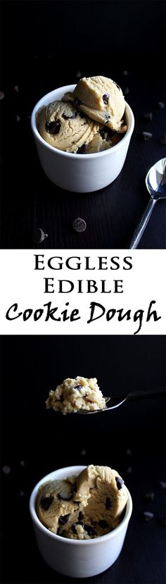 Edible Cookie Dough | Easy Cookie Dough Recipe | Edible | Eggless | Chocolate Chip Cookie Dough