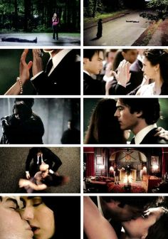 From their first time to their last time. Vampire Diaries 6x22. Damon & Elena. I truly believe that Elena will make a reappearance in the series finale, whenever that will be.