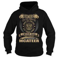 MCATEER Last Name, Surname T-Shirt