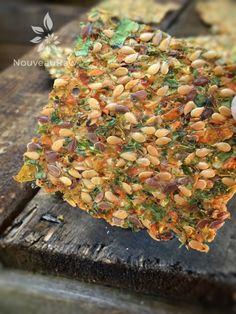 Abundant Veggie Flax Crackers (raw, vegan, gluten-free, nut-free)