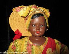 Boudoir Souvenir Doll Miss Haiti – DeeBeeGee's Virtual Black Doll Museum™