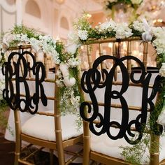 Now that you have new initials, you'll want everything monogrammed. But first, you must read this! http://www.hitchedbridal.com/