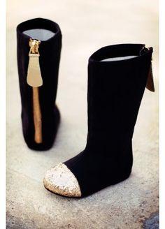 Joyfolie Chloe Boots in Black