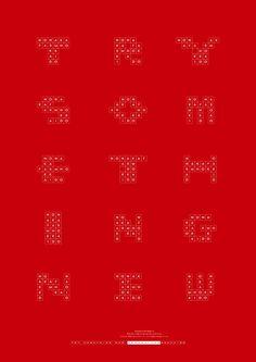 文字與圖像交織的創意海報 | MyDesy 淘靈感