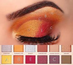 Paleta Soph X Extra Spice - Revolution Diy Eyeshadow, Eyeshadow Looks, Eyeshadow Palette, Eyeshadow Tutorials, Makeup Eye Looks, Smokey Eye Makeup, Pretty Makeup, Makeup Revolution Soph, Revolution Palette