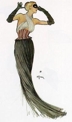 Illustration Art by René Gruau