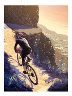 Illustration for the 10th edition of Ride Journal