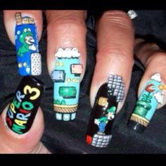 Super Mario Bros (: thanks nina vaccaro :P