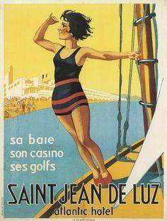 Saint Jean de Luz , France Atlantique #essenzadiriviera www.varaldocosmetica.it