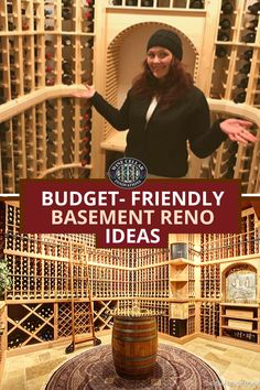 Want to revamp your basement decor? What better way to remodel your basement in an interesting way than with a custom wine cellar! We're here to help you build the basement wine cellar of your dreams! Wine Cellar Innovations, Wine Cellar Basement, Home Wine Cellars, Wine Cellar Design, Basement Remodeling, Basement Ideas, Wine Rack Wall, Wine Cabinets, Budgeting