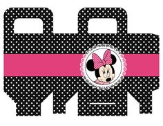 Minnie Mouse Birthday Decorations, Minnie Mouse Party, Mouse Parties, Party Printables, Free Printables, Packing Boxes, Disney Mickey, Party Favors, Cards