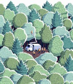 Rethinking the wild (Jon McNaught)