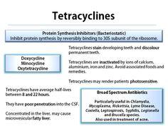Tetracycline revision