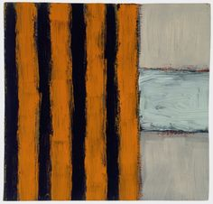 Block  1995  Oil on wood  12 x 12 in (30.5 x 30.5 cm)