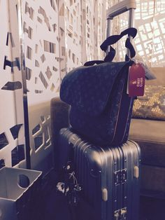 On the go with lv & rimowa