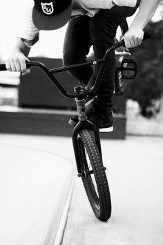 BMX, Black and white photography