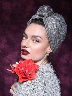 Silver Ladies turban