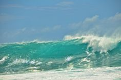 Waves - Powerful waves, North Shore Hawaii
