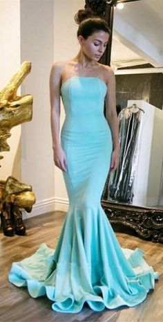 Mint Green Prom Dress,Evening Gowns,Modest Formal Dresses,Prom Dresses,New Modest Formal Dresses, Strapless Prom Dresses, Prom Dresses 2017, Prom Party Dresses, Cheap Dresses, Sexy Dresses, Dress Prom, Prom Gowns, Long Dresses