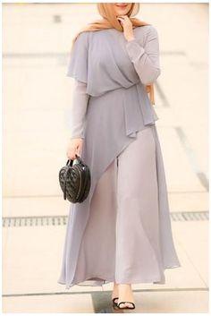 Hijab Dress Party, Hijab Style Dress, Modest Fashion Hijab, Muslim Fashion, Abaya Fashion, Fashion Dresses, Islamic Fashion, Modest Dresses For Teens, Modest Maxi Dress