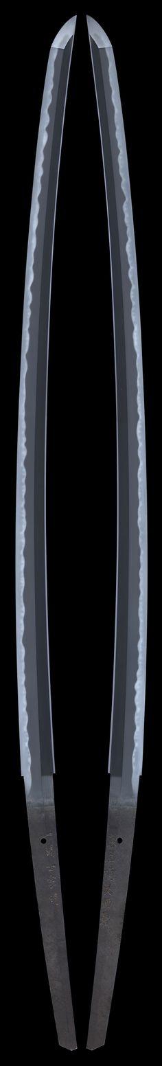 katana [Ichnoseki Muneaki][N.K]Tokubetu Hozon Token, Edo era, 1865 Japanese Blades, Japanese Sword, Katana Swords, Samurai Swords, Swords And Daggers, Knives And Swords, Dao Sword, The Razors Edge, Armas Ninja