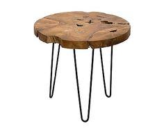 Mesa de centro en madera de teca Trent - natural