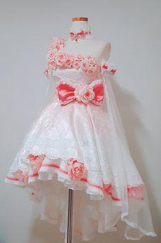 Pink Outfits, Pretty Outfits, Pretty Dresses, Cool Outfits, Cosplay Outfits, Anime Outfits, Kawaii Fashion, Cute Fashion, Kpop Fashion Outfits