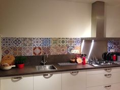 Our happy customers | kitchenwalls wallpaper Portugese tiles