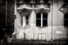 Josef Chochol @ Hodek Apartment House Prague [1913-1914] #1 by d.teil, via Flickr