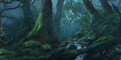 "sweetd3lights: "" Forest silence by Reinmar84 """
