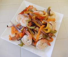 Healthy Dinner Recipes: Sheet Pan Shrimp and Peppers