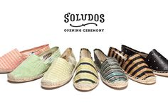 Opening Ceremony Collaboration for Soludos