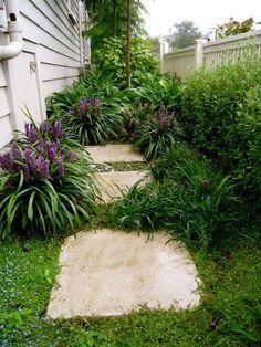 Grey Lynn Garden Design Landscape Design, Garden Design, Garden Inspiration, Stepping Stones, Paths, Landscaping, Grey, Outdoor Decor, Home Decor