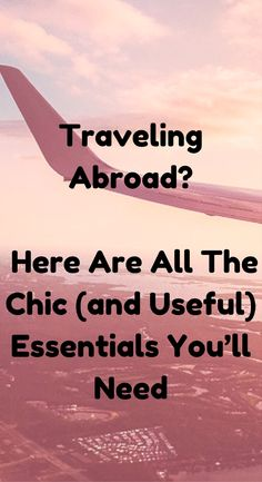 All The Chic (and Useful) Travel Essentials You Need
